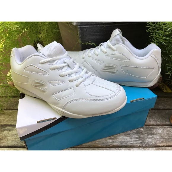 55183ad61a11 zephz Shoes | Zenith Cheerleading White Laced | Poshmark